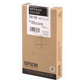 Epson C13T611800 blækpatron, mat, 110ml
