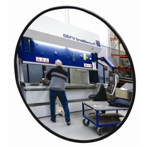 Industrispejl rundt ø70 cm, Akryl, inde/ude