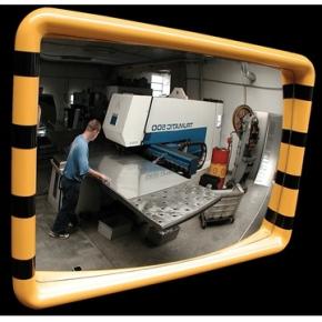 Industrispejl firkantet 60x90 cm, Akryl, inde