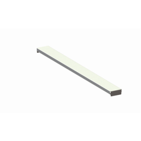 META palle stålhylde, 360x80 mm, Galvanis