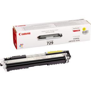 Canon CRG729/4367B002 lasertoner, gul, 1000s