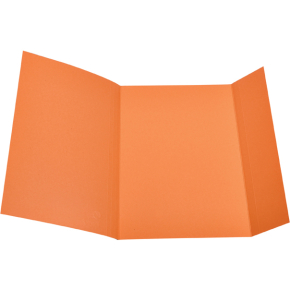 DKF Kartonmappe nr. 103, folio, orange