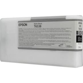 Epson nr.T6538/C13T653800 blækpatron, mat sort, 20