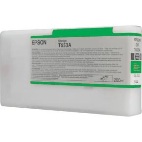 Epson nr.T653B/C13T653B00 blækpatron, grøn, 200ml