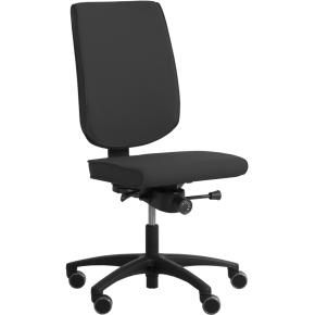 RBM 625 kontorstol sort stel Oxford grå