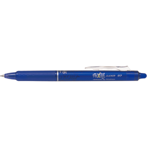 Pilot Frixion Clicker kuglepen, 0,7 mm, blå