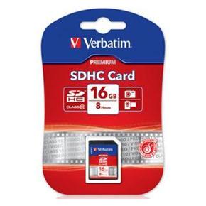 Verbatim SDHC 16GB Class 10 hukom. kort