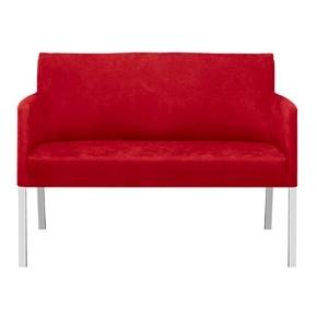 Florence 2 pers. sofa rød - køb til fast lav pris - Lomax A/S