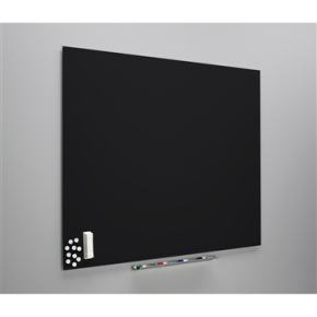 Vanerum Diamant whiteboard 90x118, sort