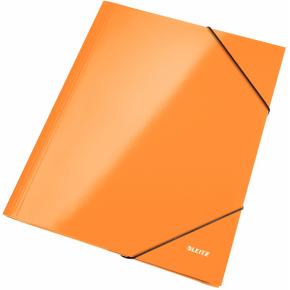 Leitz WOW elastikmappe, orange