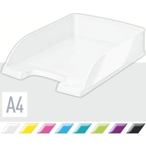 Leitz WOW brevbakke, hvid metallic