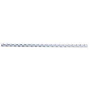 GBC Plast Spiralryg A4, 21 ringe, 14mm, hvid
