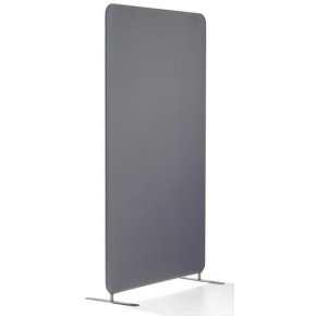 Abstracta softline skærmvæg grå B100xH170 cm