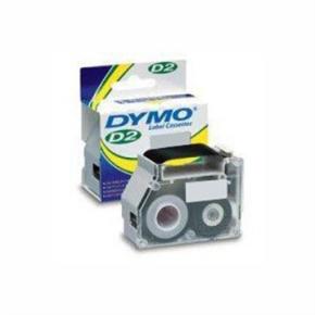 Dymo D2 labeltape, 32mm, gul