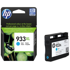 HP nr.933XL/CN054AE blækpatron, blå, 825s