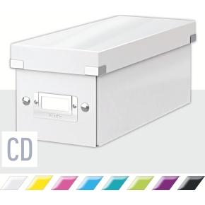 Leitz Click & Store CD-boks, hvid