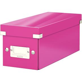 Leitz Click & Store CD-boks, pink
