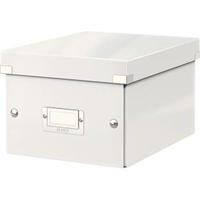 Leitz Click & Store opbevaringsboks small, hvid
