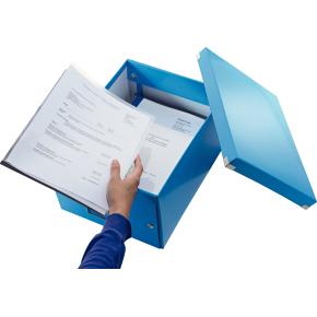 Leitz Click & Store opbevaringsboks medium, blå
