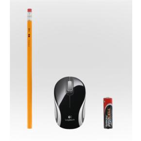 Logitech Wireless Mini Mouse M187, sort
