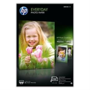 HP CR757A blankt inkjetfoto, 10x15cm/200g/100ark