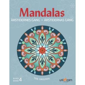 Mandalas Årstidernes gang malebog, bind IV