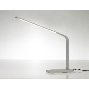 Simply LED bordlampe Alufarvet