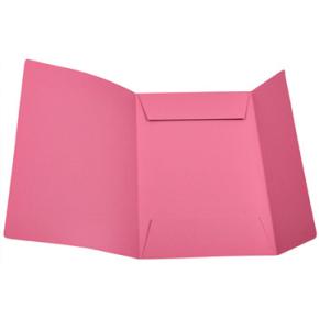 DKF Kartonmappe nr. 125, folio, rosa