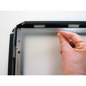 LED klip-klap ramme, A4