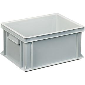 Lagerkasse 14 liter, Lukket håndtag, 40x30x17 cm