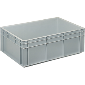 Lagerkasse 42 liter, Lukket håndtag, 60x40x22 cm