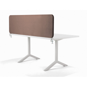 Softline bordskærmvæg beige B1200xH590 mm
