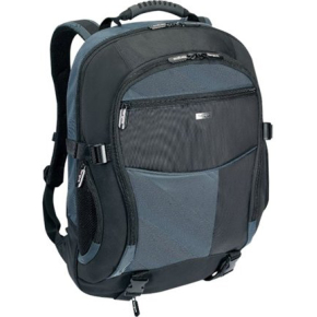 "Targus XL Notebook Backpack, 17""-18"", Sort/blå"
