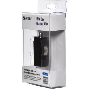 Sandberg Mini Car Charger USB 2100mA