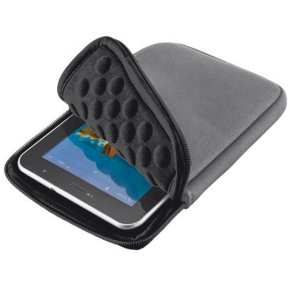 "Trust Tablet Sleeve 7"" Anti-shock Bubble Grå"