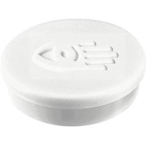 Legamaster magneter, 20 mm, hvid, 10 stk