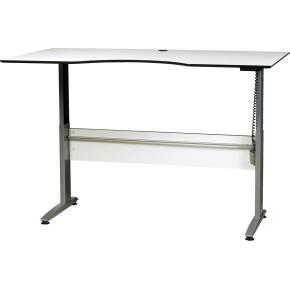 VIKING hæve/sænkebord 180x90 cm hvid/sort