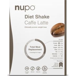 Nupo Diet shake Caffe Latté, 384g