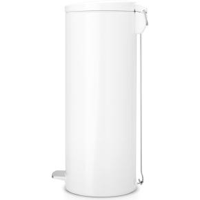 Brabantia Pedalspand 20 liter Slimline, hvid