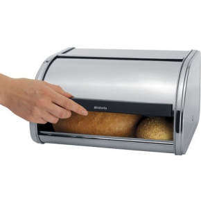 Brabantia Roll Top Medium Brødkasse, mat stål