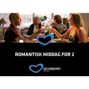 romantisk middag for 2 go dream