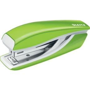 Leitz WOW Mini hæftemaskine, grøn metallic