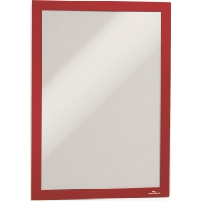 Durable DURAFRAME Security A4, rød/hvid (2 stk)
