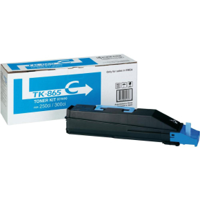 Kyocera TK-865C Lasertoner Cyan