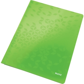 Leitz WOW Arbejdsmappe, grøn metallic