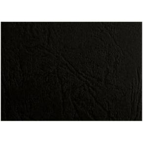 GBC Leather-Grain Indbindingsomslag, A5, sort
