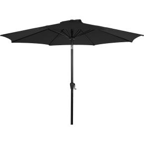 Felix parasol m/krank og tilt, Ø3 m, sort