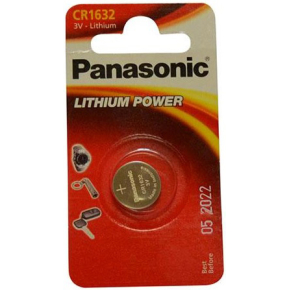 Panasonic CR1632 knapcelle batteri