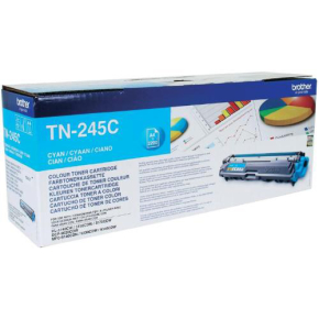 Brother TN245C Lasertoner, cyan, 2200 s.
