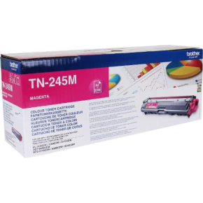 Brother TN245M Lasertoner, magenta, 2200 s.